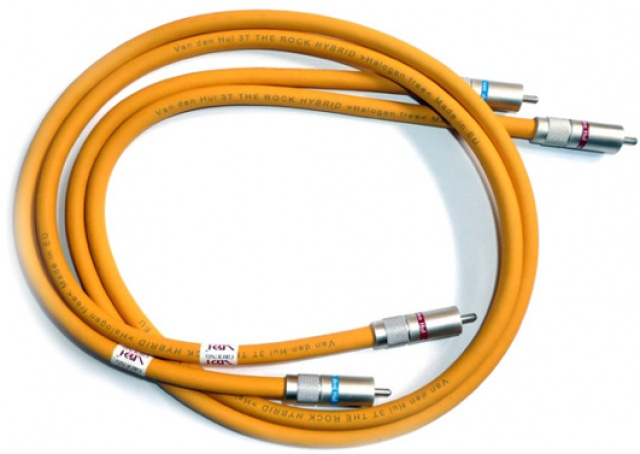 VAN DEN HUL THE FIRST METAL SCREEN COAXIAL RCA CABLE NEW